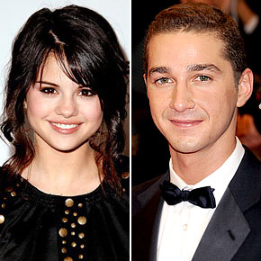 Shia Labeouf And Selena Gomez