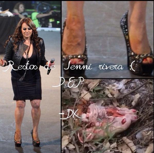 Jenni Rivera Dead Body Parts